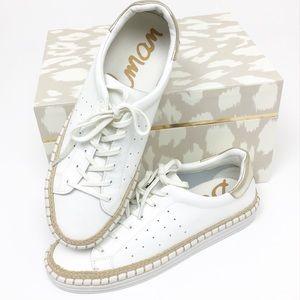 Sam Edelman Kari Espadrille Sneaker White Size 9
